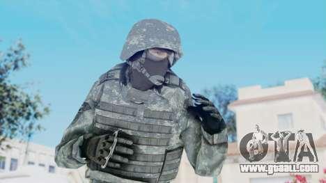 Acu Soldier Balaclava v3 for GTA San Andreas