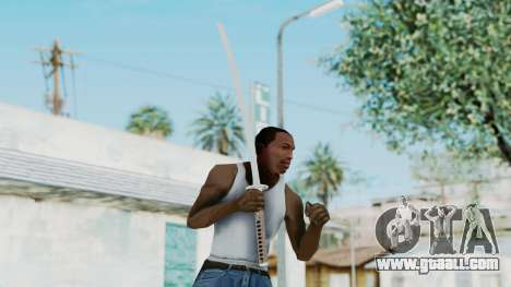 Samurai Sword for GTA San Andreas