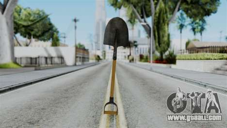 No More Room in Hell - Shovel for GTA San Andreas