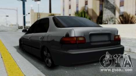 Honda Civic 1992 Sedan for GTA San Andreas left view