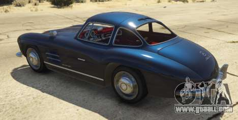 GTA 5 1954 Mercedes-Benz 300 SL Gullwing 1.0 rear left side view