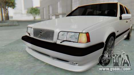 Volvo 850R 1997 Tunable for GTA San Andreas interior