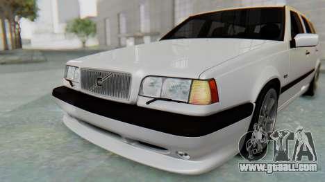 Volvo 850R 1997 Tunable for GTA San Andreas interior