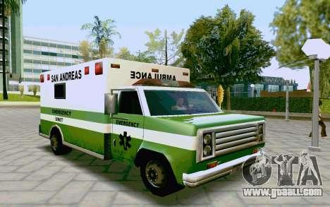 Journey Ambulance for GTA San Andreas