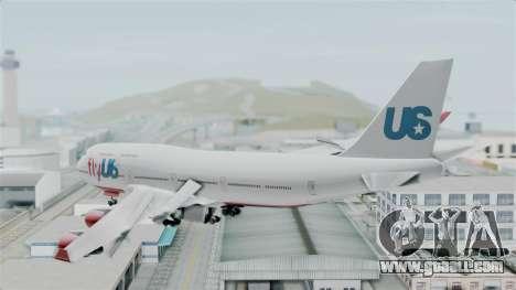 GTA 5 Jumbo Jet v1.0 FlyUS for GTA San Andreas right view