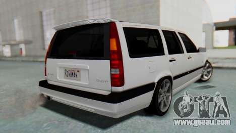 Volvo 850R 1997 Tunable for GTA San Andreas left view