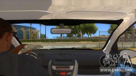 2005 Peugeot 107 V2 for GTA San Andreas inner view