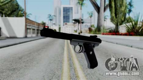 No More Room in Hell - Ruger Mark III for GTA San Andreas