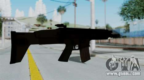 SCAR-L for GTA San Andreas third screenshot