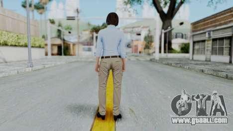 GTA 5 Karen Daniels Civil for GTA San Andreas third screenshot