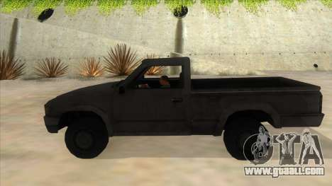 Toyota Hilux Militia for GTA San Andreas left view