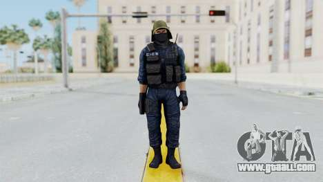 GIGN 2 Masked from CSO2 for GTA San Andreas second screenshot