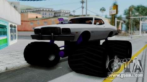 Ford Gran Torino Monster Truck for GTA San Andreas