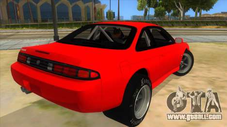 Nissan Silvia S14 Drag for GTA San Andreas right view