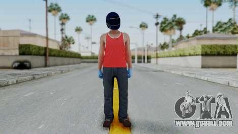 Biker from Hotline Miami for GTA San Andreas second screenshot