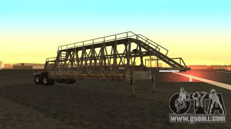 The trailer panels for GTA San Andreas