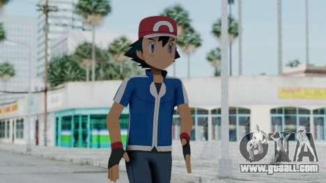 Pokémon XY Series - Ash for GTA San Andreas