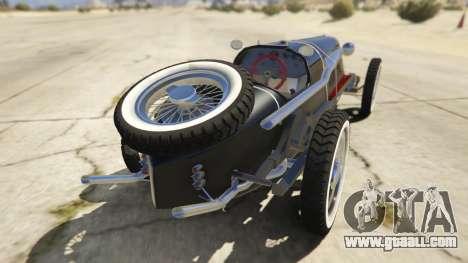GTA 5 Mefist 1.2 rear left side view