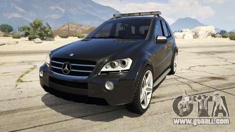 2009 Mercedes-Benz ML63 AMG FBI for GTA 5