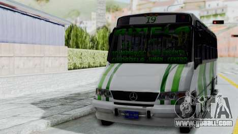 Marcopolo Boxer for GTA San Andreas left view