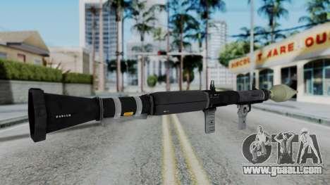 GTA 5 RPG - Misterix 4 Weapons for GTA San Andreas third screenshot