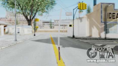Samurai Sword for GTA San Andreas second screenshot