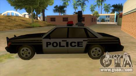 Police Car from Manhunt 2 for GTA San Andreas left view