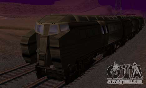 Batman Begins Monorail Train v1 for GTA San Andreas upper view