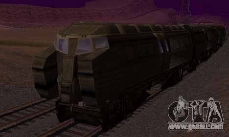 Batman Begins Monorail Train v1 for GTA San Andreas upper view