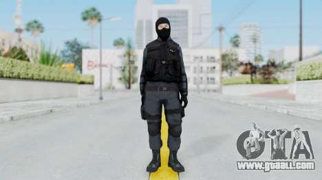GTA 5 S.W.A.T. Police for GTA San Andreas second screenshot