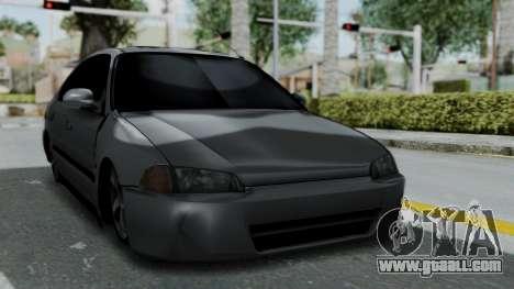Honda Civic 1992 Sedan for GTA San Andreas