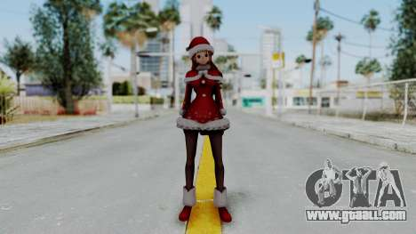 One Piece Pirate Warriors - Nami Christmas DLC for GTA San Andreas second screenshot