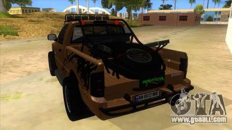 Dodge Ram SRT DES 2012 for GTA San Andreas back left view