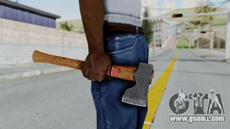 GTA 5 Hatchet - Misterix 4 Weapons for GTA San Andreas third screenshot