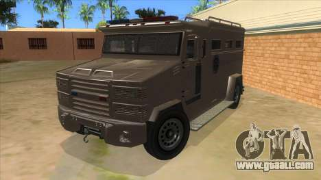 GTA 5 Brute Riot Police for GTA San Andreas