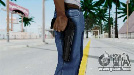 Pouxs Desert Eagle v2 Black for GTA San Andreas third screenshot