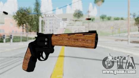 Wood Revolver for GTA San Andreas second screenshot