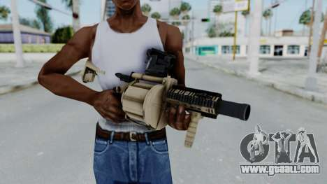 Arma OA Grenade Launcher for GTA San Andreas third screenshot
