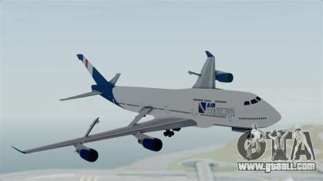 GTA 5 Jumbo Jet v1.0 Air Herler for GTA San Andreas back left view