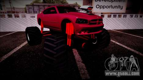 2006 Dodge Charger SRT8 Monster Truck for GTA San Andreas interior