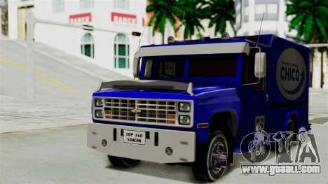 Chevrolet C30 Furgon Stylo Colombia for GTA San Andreas