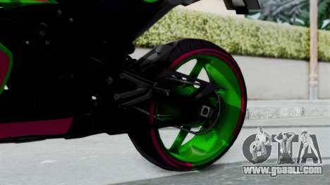 Yamaha R1 for GTA San Andreas right view