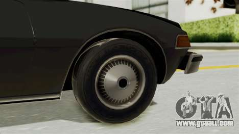 AMC Pacer 1978 for GTA San Andreas back left view