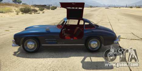 GTA 5 1954 Mercedes-Benz 300 SL Gullwing 1.0 rear right side view