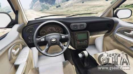 Chevrolet TrailBlazer for GTA 5