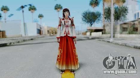 Sengoku Musou 3 - Okuni for GTA San Andreas second screenshot