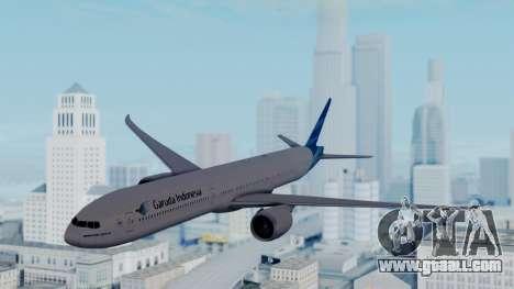 Boeing 777-9U3(X) Garuda Indonesia for GTA San Andreas back left view