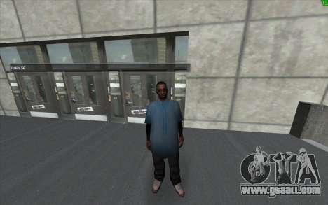 A visual change of the skin for GTA San Andreas second screenshot