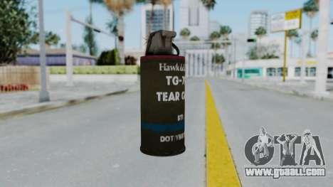 GTA 5 Tear Gas for GTA San Andreas