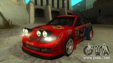 Subaru Impreza WRX STi 2011 ,,Response,, for GTA San Andreas